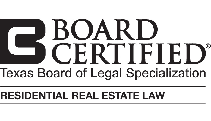 Board Certified in Residential Real Estate